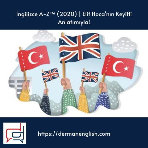 İngilizce A-Z™ (2020) | Elif Hoca'nın Keyifli Anlatımıyla!