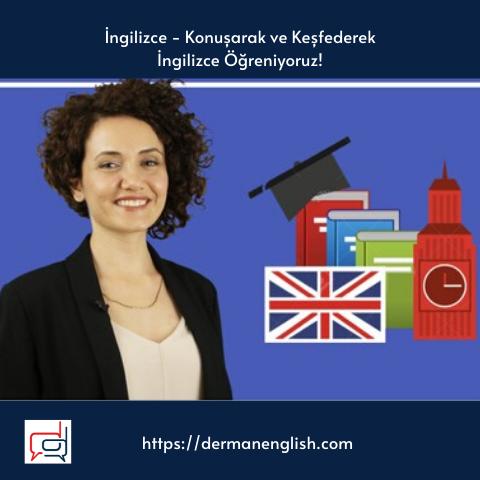 İngilizce - Konuşarak ve Keşfederek İngilizce Öğreniyoruz!