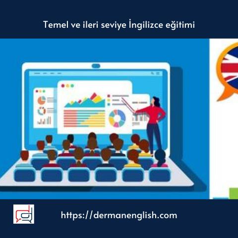 Temel ve ileri seviye İngilizce eğitimi