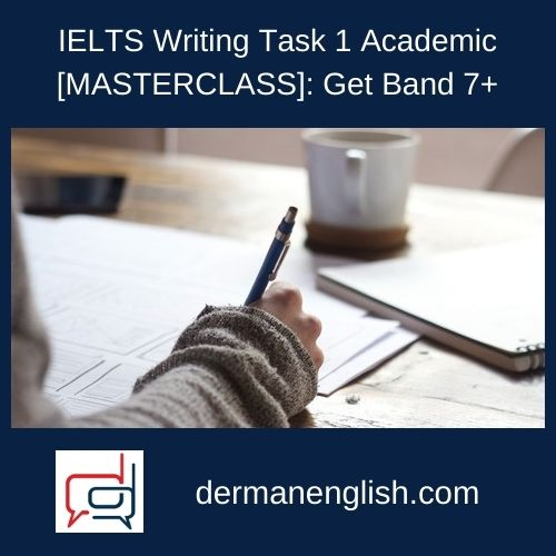 IELTS Writing Task 1 Academic [MASTERCLASS]: Get Band 7+