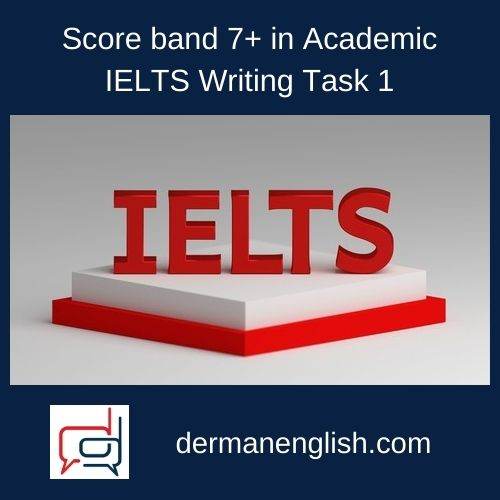 Score band 7+ in Academic IELTS Writing Task 1