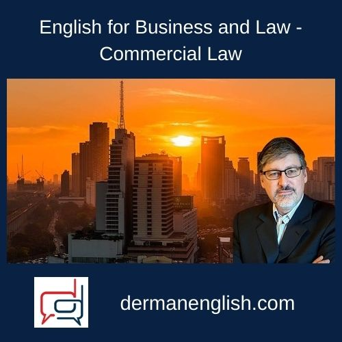 English for Business and Law – Commercial Law