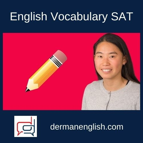 English Vocabulary SAT - Jane Cui