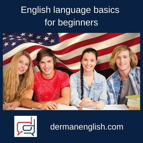 English language basics for beginners