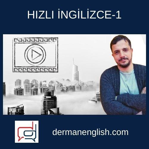 HIZLI İNGİLİZCE-1 - Erkan Önler