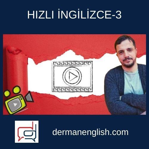 HIZLI İNGİLİZCE-3 - Erkan Önler