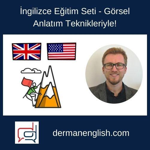 İngilizce Eğitim Seti – Görsel Anlatım Teknikleriyle!