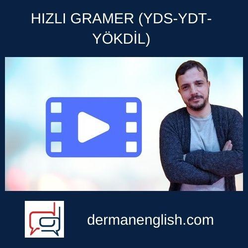 HIZLI GRAMER (YDS-YDT-YÖKDİL) - Erkan Önler