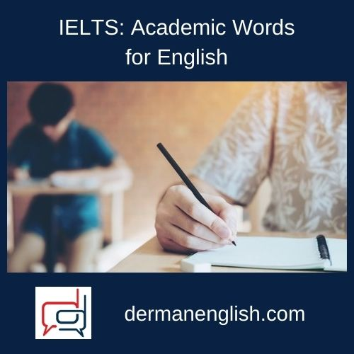IELTS: Academic Words for English