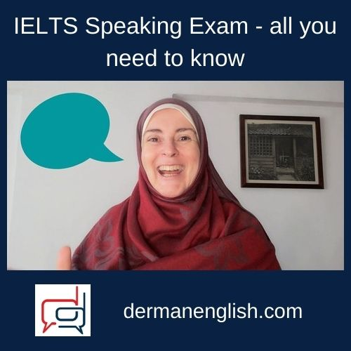 IELTS Speaking Exam - all you need to know - Vanessa Ellen
