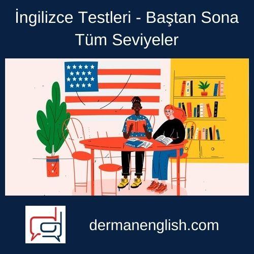 İngilizce Testleri - Baştan Sona Tüm Seviyeler