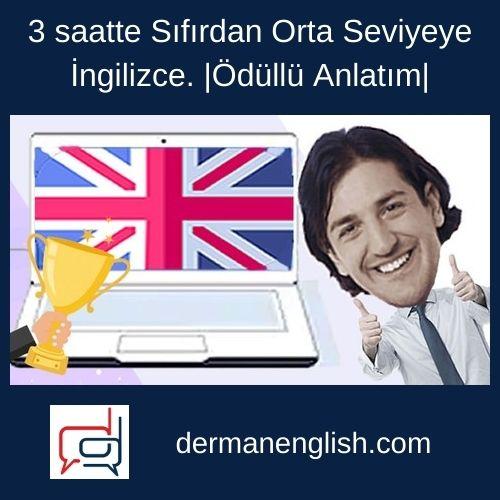 3 saatte Sıfırdan Orta Seviyeye İngilizce. |Ödüllü Anlatım| - Alper Güven