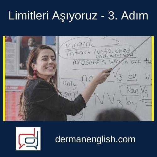 Limitleri Aşıyoruz – 3. Adım - K4 English Yayıncılık