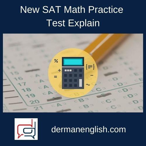 New SAT Math Practice Test Explain - Kim Chen