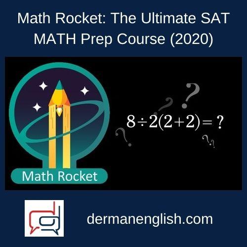 Math Rocket: The Ultimate SAT MATH Prep Course (2020) - Mohamed Shahen