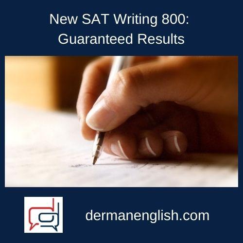 New SAT Writing 800: Guaranteed Results - Philip Lee