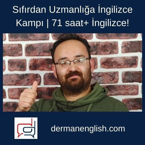 Sıfırdan Uzmanlığa İngilizce Kampı | 70 saat+ İngilizce! - Alp Timuçin Koçak
