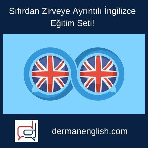 Sıfırdan Zirveye Ayrıntılı İngilizce Eğitim Seti!