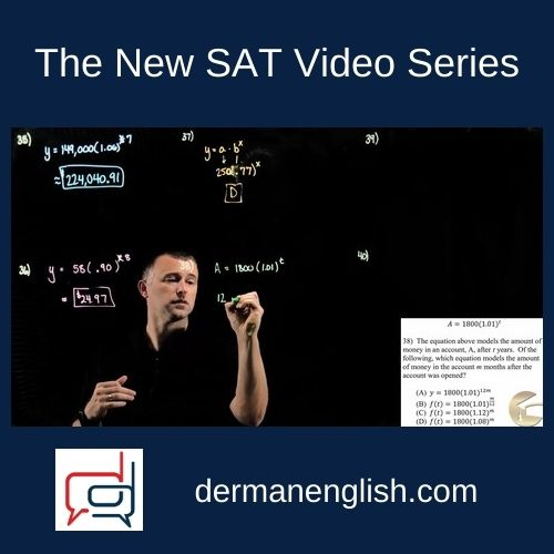 The New SAT Video Series - Jesse Patrick