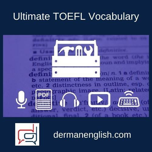 Ultimate TOEFL Vocabulary