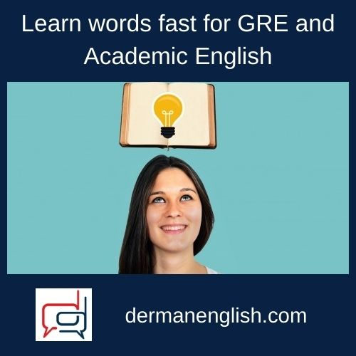Learn words fast for GRE and Academic English - Brian Vieira